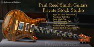 Paul Reed Smith Private Stock Studio Tiger Eye 2012 Electric Guitar F/S