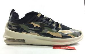 475f8ceff94 NEW Nike Air Max Axis Premium Camo Shoes Black/Light Bone PRM AA2148 ...