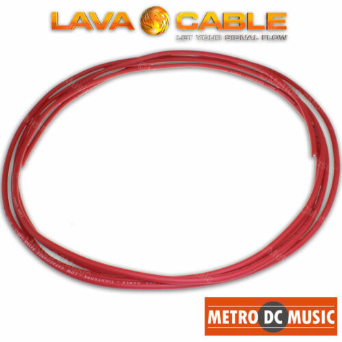 10 feet Lava Cable RED Tightrope Cable For Lava Tight Rope Plugs Pedal Patch