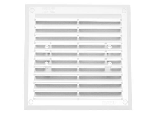 Flange M050 Air Vent Grille 175mm x 175mm with 125mm Ducting Pipe Connection