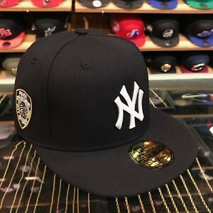 New Era New York Yankees Fitted Hat All Navy White