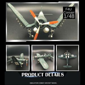 1-48-scale-WWII-F4U-Corsair-U-S-NAVY-Assemble-Fighter-Model-Random-Color
