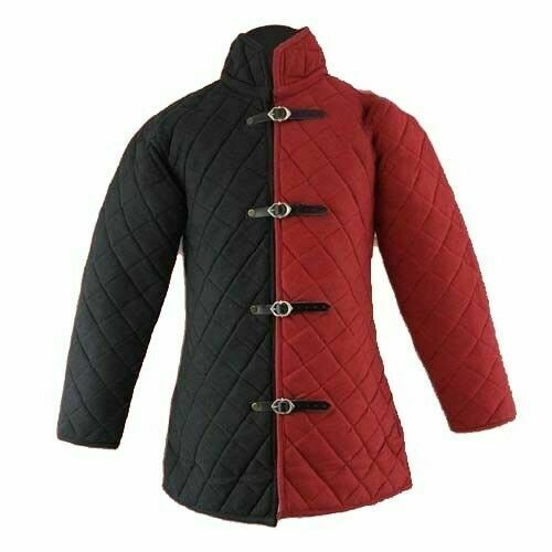 Medieval Gambeson Thick Padded vest Jacket Armor COSTUMES DRESS