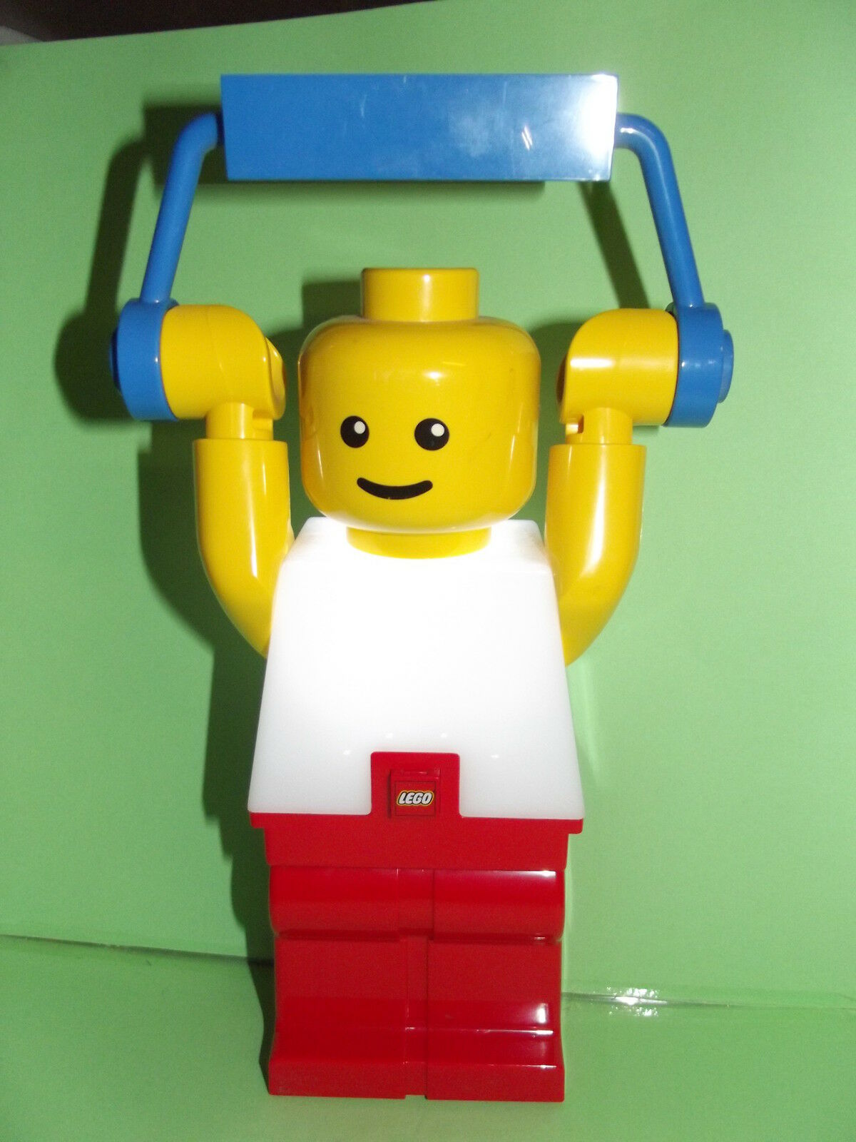 LEGO personaggio -- -- peso sollevatore -- Lampada -- luce notturna -- 22 cm -- rarità assoluta -