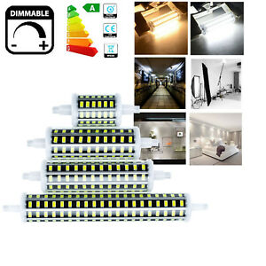 Dimmable r7s led flood light 78mm 118mm 135mm 189mm 10w 20w 30w 5733 smd lamps ebay for R7s led 118mm 20w
