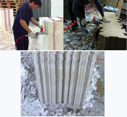 4500rpm Pneumatic Carton Box Waste Stripper Cutter Corrugated Cardboard Trimming