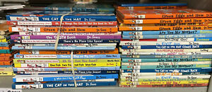 """10-PACK! Lot of Books By Dr. Seuss Hardcover Set 6""""x9"""" RANDOM Collection"""