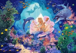 Puzzle Castorland 1000 pièces-Pearl Princess (61379)  </span>