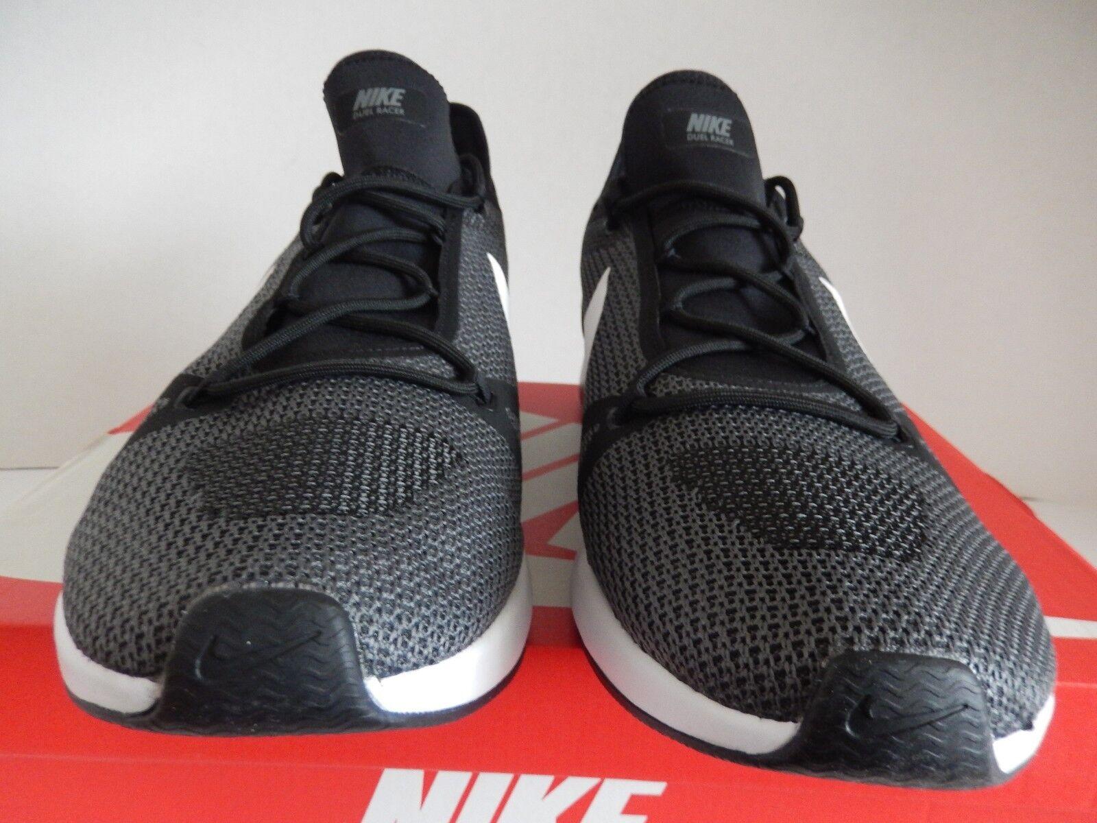 Nike schwarz-Weiß-dark duell racer schwarz-Weiß-dark Nike Grau-Weiß sz 15 [918228-010] 0f7800