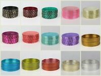 Set of 12 pc Indian Jewelry Bangle Plain Bracelet Metal - Available in 15 colors