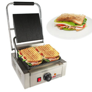 High-quality-Panini-Sandwich-Press-Grill-Commercial-Use-Restaurant-Grade