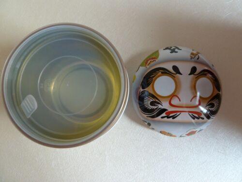 ,Bonbondose Hergestellt in Japan,DARUMA Nittoh,Glücksbringer Teedose 達磨