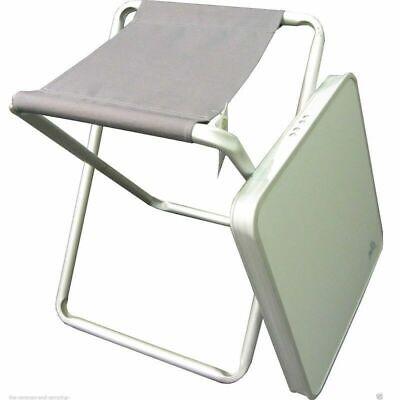 Stool Camping /& Caravanning Stable Via Mondo Aluminium Leisure Table