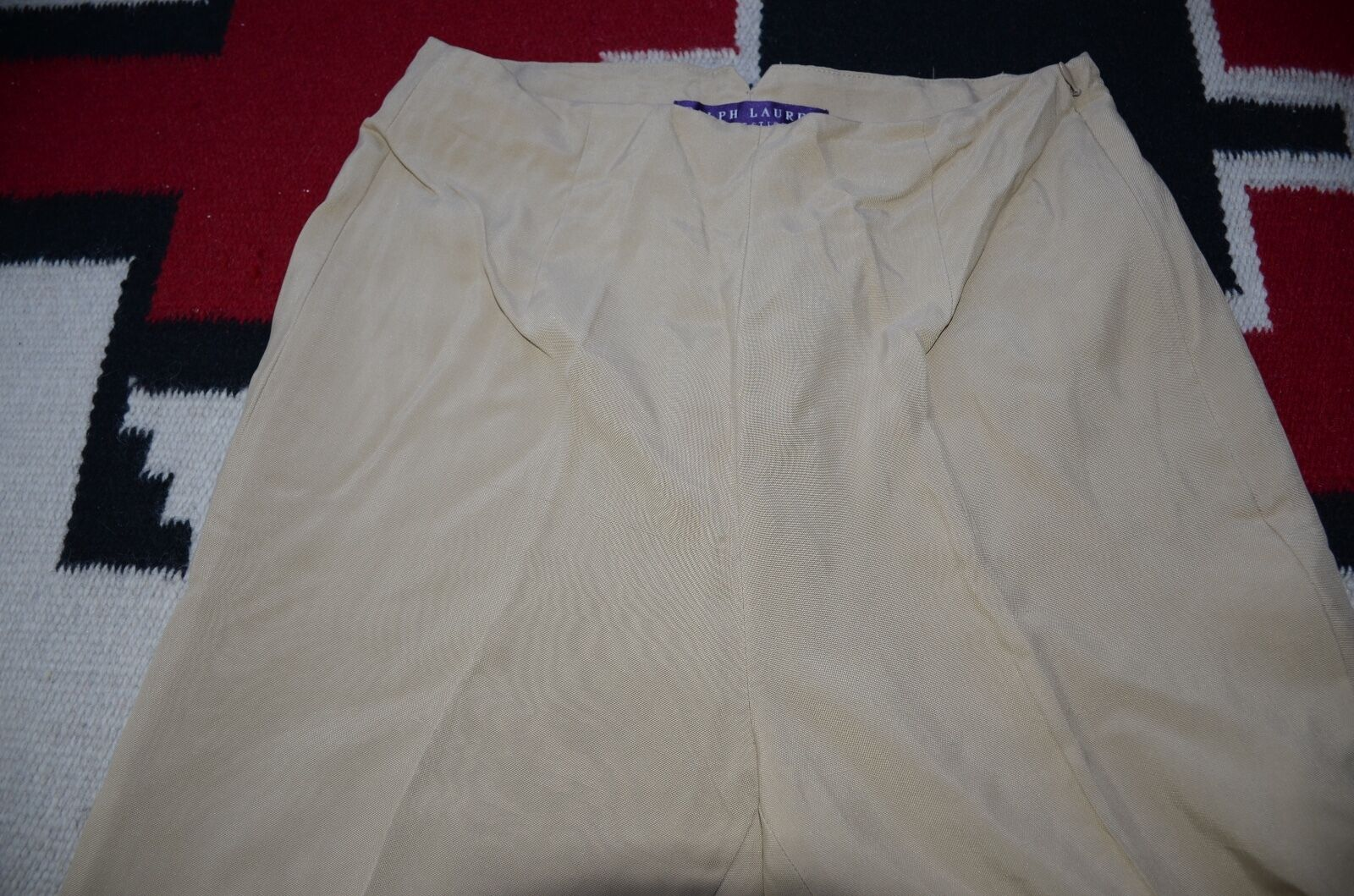 Ralph Lauren Collection Purple Label Made in USA 100% Silk Casual Pants