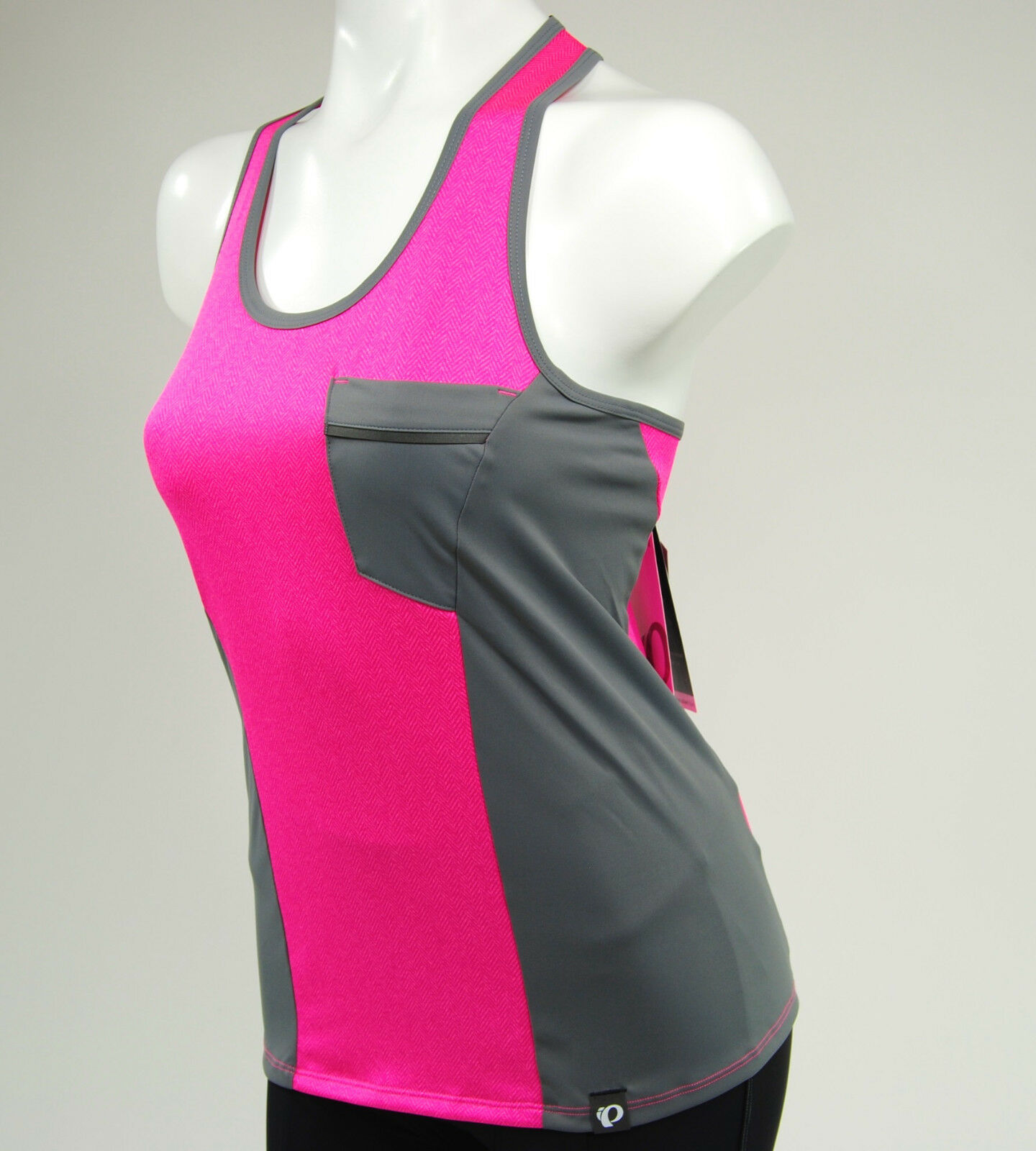 Pearl Izumi Women's Select Escape Sleeveless Cycling Tank Top Jersey, Pink,Small