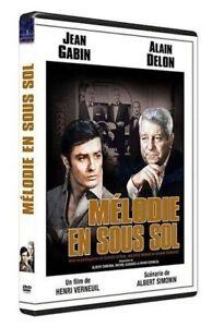 Melodie-en-sous-sol-DVD-NEUF-SOUS-BLISTER-Jean-Gabin-Alain-Delon