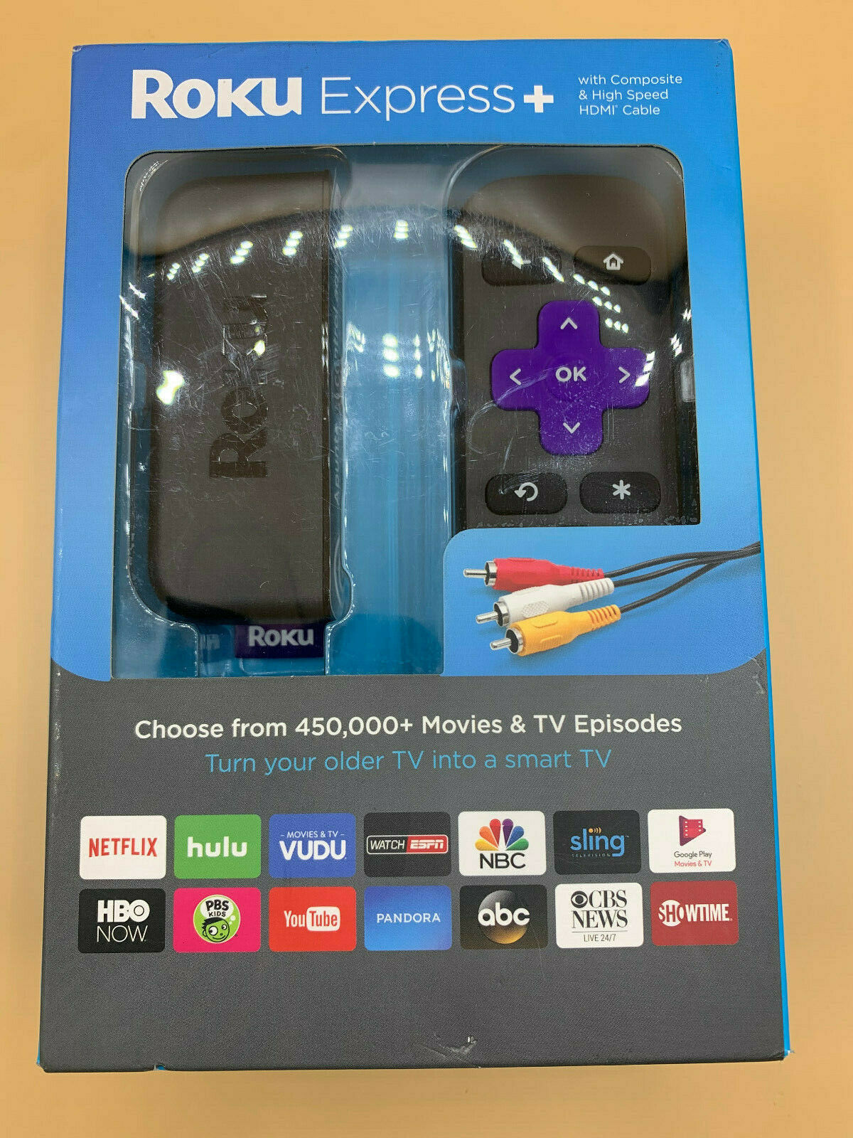 Roku Express+ Streaming Player 3710RW 3710rw player roku streaming