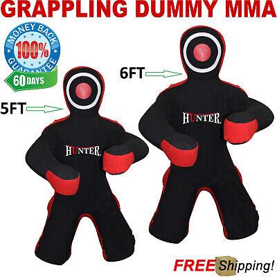 Brazilian Jiu Jitsu Grappling Dummy MMA Wrestling Bag Judo Martial Arts 5ft 6ft