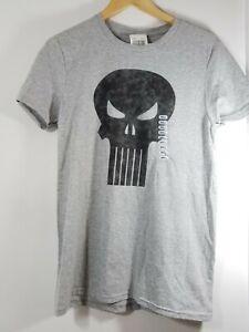 a6e73cab3f6228 Image is loading Marvel-Punisher-Retro-Skull-Symbol-Mens-Graphic-T-