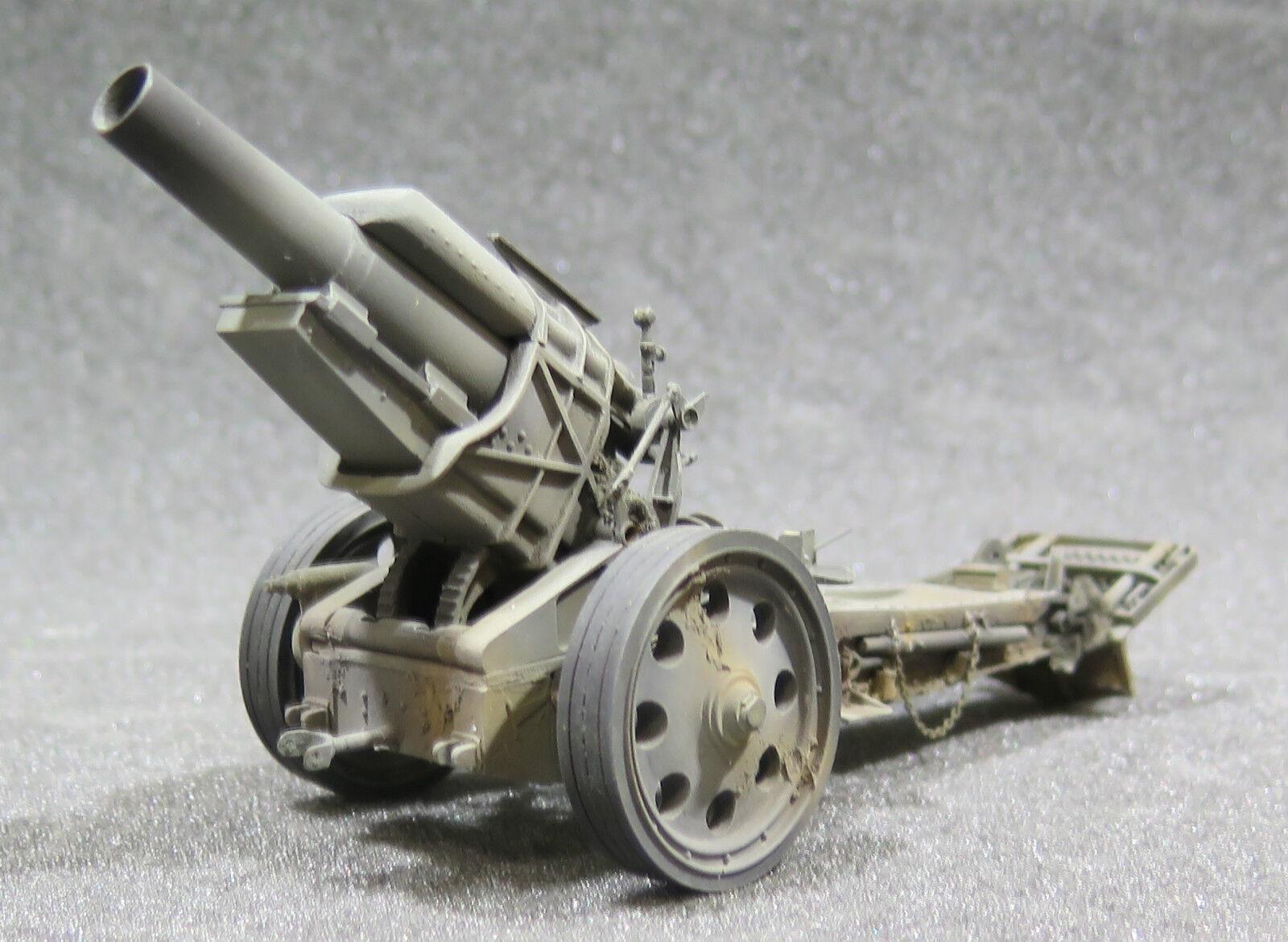 MI0153 - 1  35 PRO BUILT - hkonsts WW1 Tyska tunga vapen