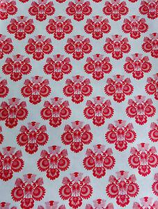 Original-Tilda-Stoff-50-x-70-cm-Ornament-Pink-Neu