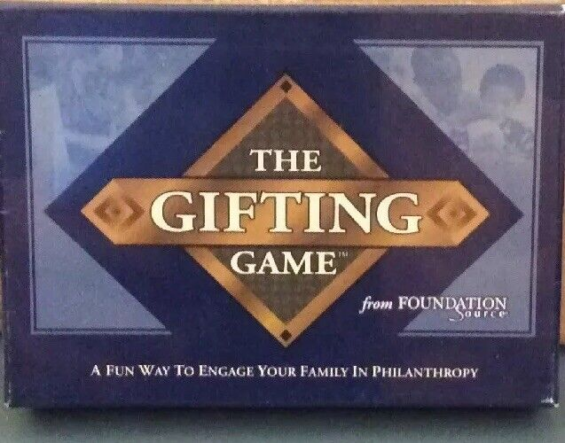 The Gifting Game - A Fun Way To Engage Your Family In Philanthropy