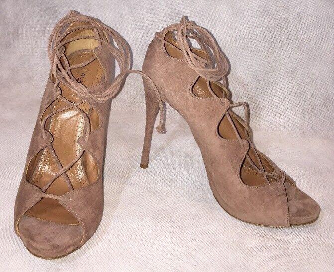 design semplice e generoso Alaia donna scarpe scarpe scarpe Dimensione 40 NIB Sandals Heels Suede  molto popolare