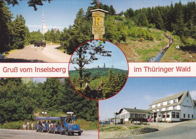 Gruß vom Inselsberg im Thür. Wald , Ansichtskarte