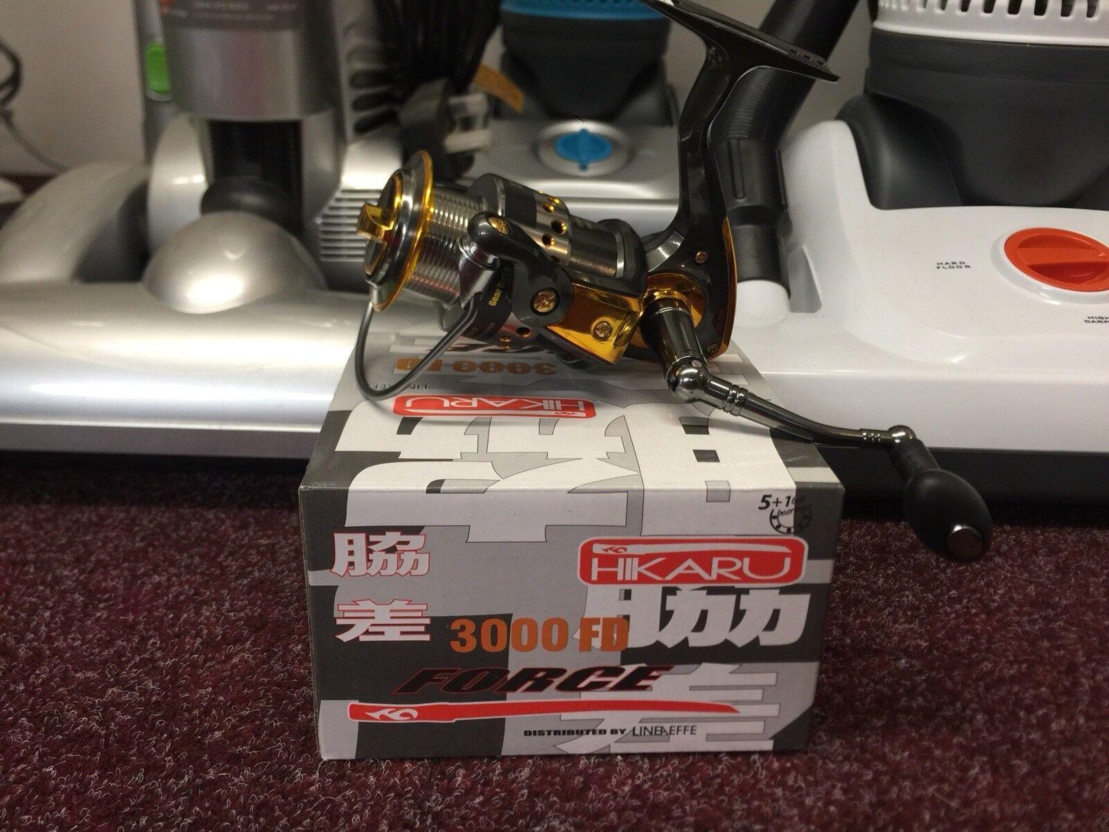 Hikaru 3000 FD Force Fixed Spool Reel