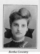 1908 Burlington VT High School Yearbook~Photos~History~Track~Basketball~++++