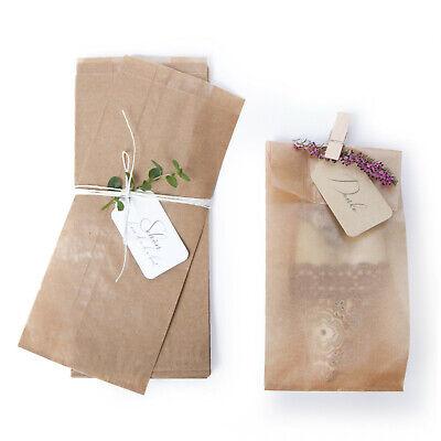 1000 Blatt Delikatessen-Papier 25x37,5cm 3538 braun Pergamin umweltfreundlich