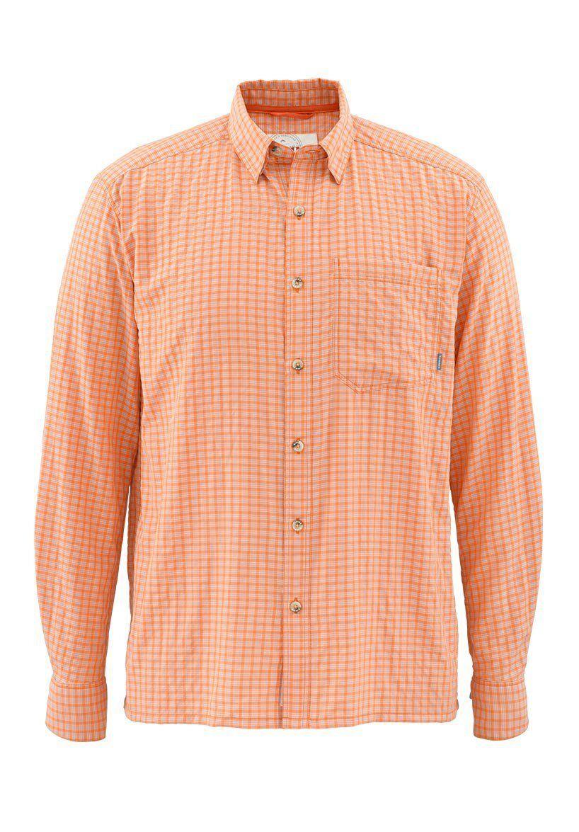 Simms MORADA Long Sleeve Shirt  Clay NEW  Closeout Größe Large