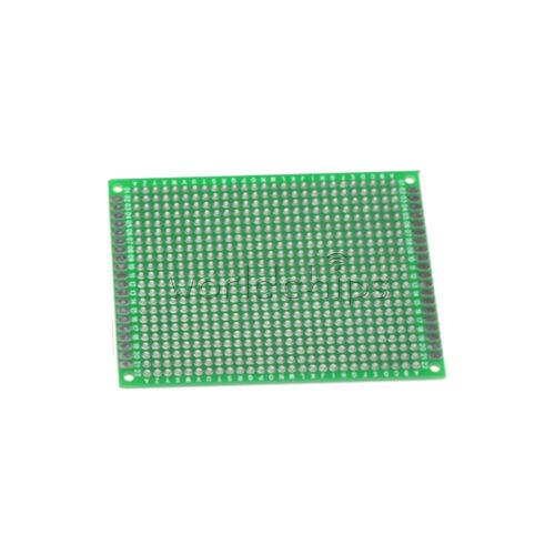 10Pcs Double side Protoboard Circuit Universal DIY Prototype PCB Board 6x8cm