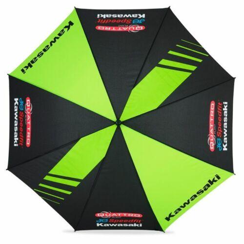 19QK-UMB New Official Quattro Plant Kawasaki Racing Team Umbrella