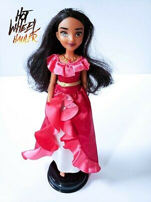 """Disney Elena Of Avalor My Time Singing Doll 12/"""" Tall with Guitar Distressed BOx"""