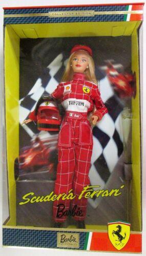 Scuderia Ferrari Barbie Doll New
