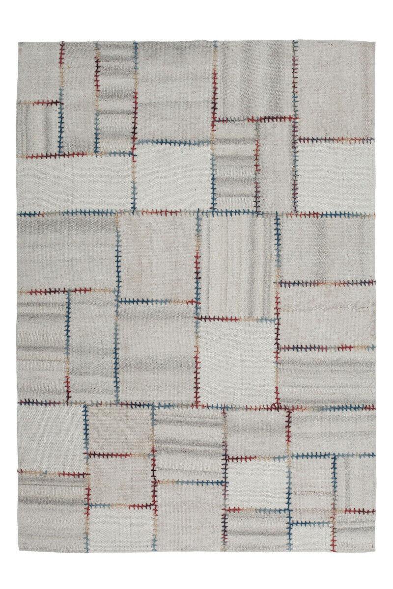 Encadré Design Tapis veulent tapis fait main patchwork nature 120x170cm