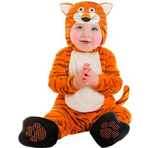 Tiger Infant Costume Halloween Taille 0-6 6-12 12-18 mois Body Dress Up New