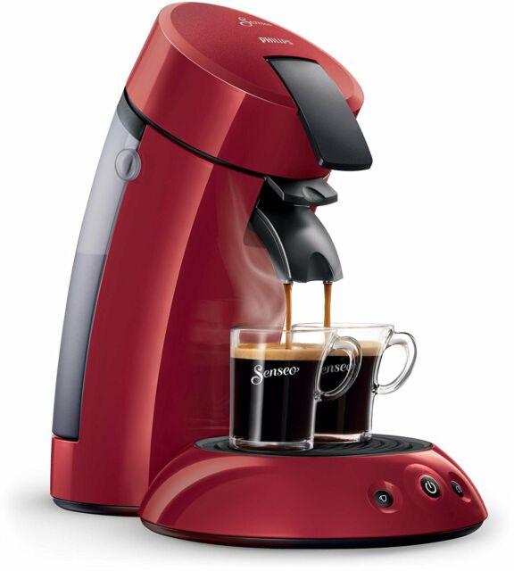 Philips Senseo Coffee Machine In Red Hd655491hd7817