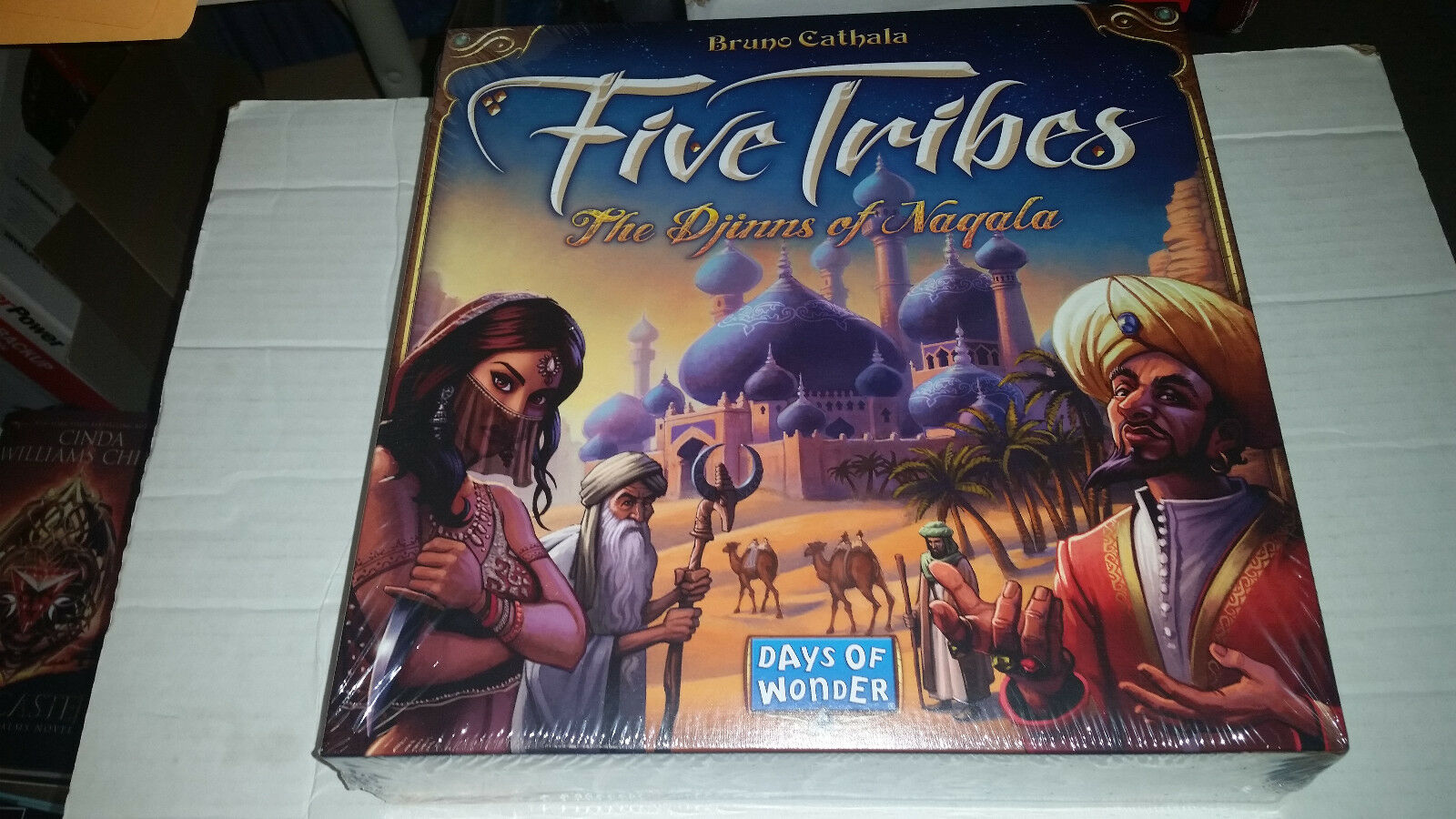 Five Tribes  The The The Djinns of Naqala Days of Wonder nuovo SEALED bac1f8