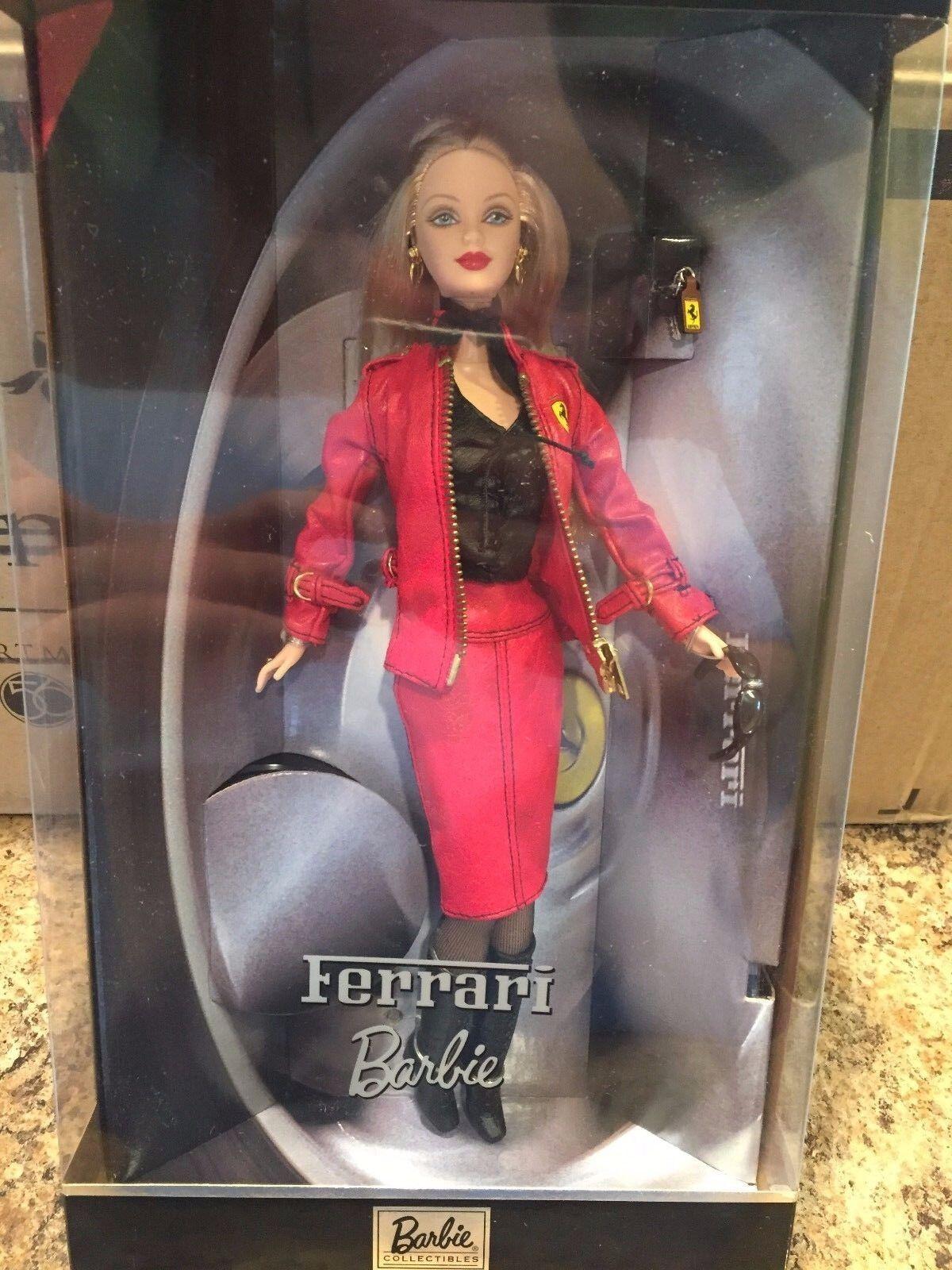 Mattel Muñeca Barbie Ferrari nunca quitado de la Caja retirado