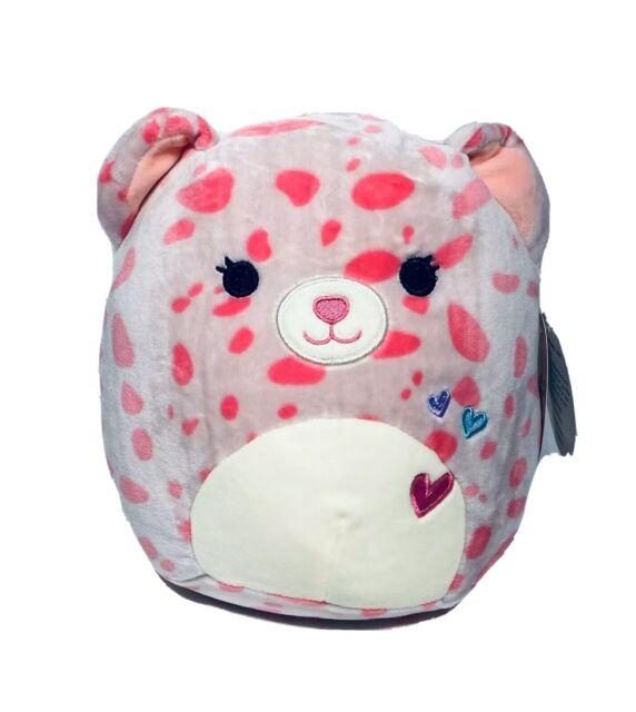 "NWT Squishmallow Lorie 12/"" Pink Cheetah Stuffed Animal Plush Soft Gift Toy"