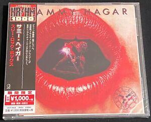Sammy-Hagar-Three-Lock-Box-CD-2018-Geffen-New-Sealed-Japan-Limited-Edition