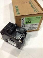 B240 New Siemens 2 Pole 40a 240vac Circuit Breaker New Box Of 6