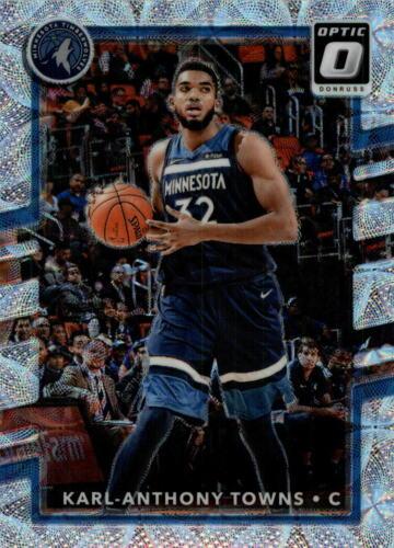 2017-18 Donruss tarjeta de Baloncesto Premium óptica recoger