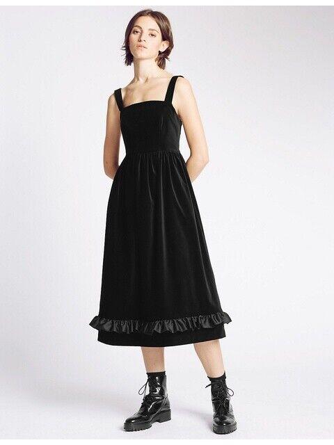 2016 Aw Archiv Von Alexa Für M&s The Vicar Kleid 8 Us 4)