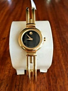 MOVADO-HARMONY-88-A1-809-A-Gold-Ladies-Watch