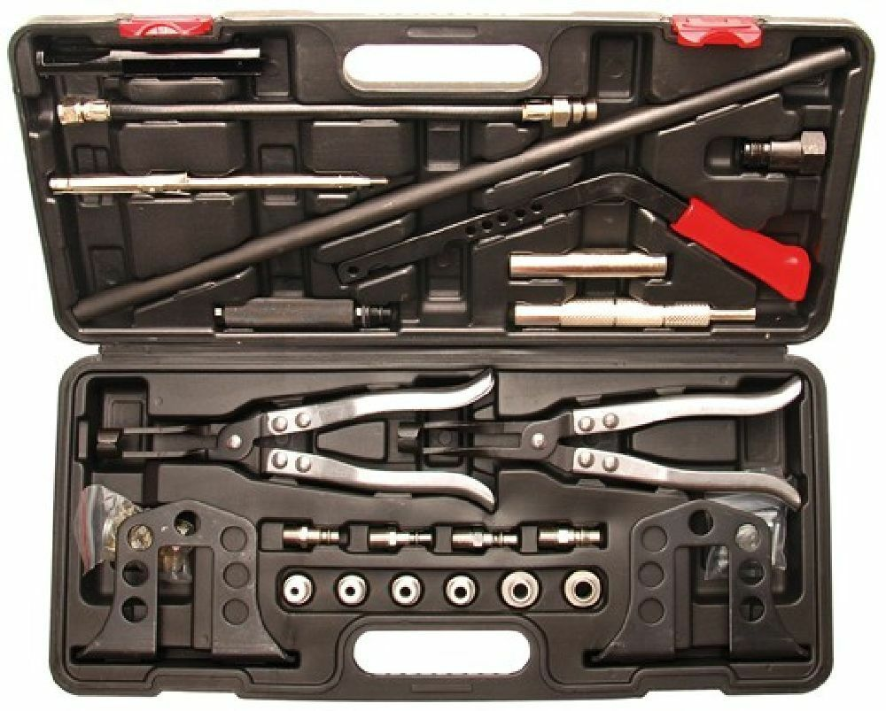 KRAFTMANN BGS 8595 Universal-Ventilfeder-Montage Demontage-Satz, 21-tlg.