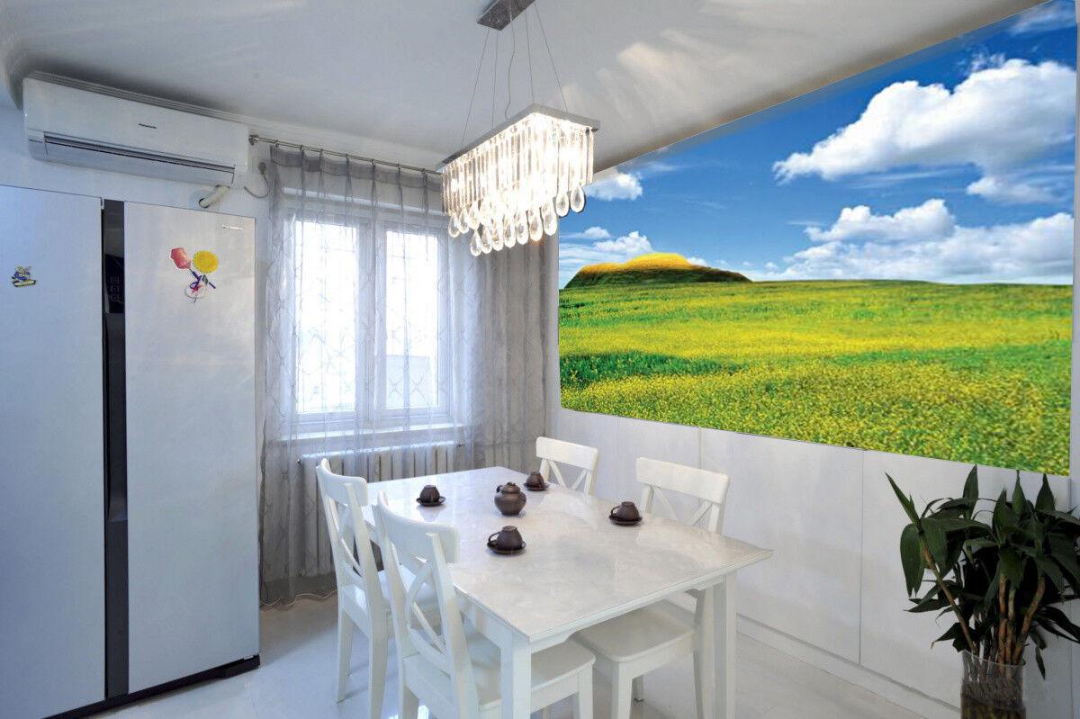 3D Clouds Hillside 75 Wall Paper Murals Wall Print Wall Wallpaper Mural AU Kyra