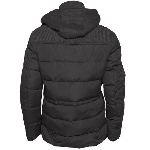 FERAUD Homme Rembourré Down Jacket Coat Noir Petit RRP £ 349.00